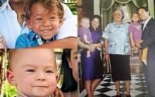 เปิดภาพสุดประทับใจ สมเด็จพระเทพฯ ทรงเอ็นดู คุณแมกซ์ และ คุณลีโอ ลูกชาย คุณพลอยไพลิน
