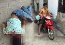 พ่อตาสุดทนแทงลูกเขยดับ แบกศพใส่มอไซค์เอาไปให้ตำรวจ!!