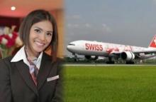 หญิงไทยดังไกลทั่วโลก!! หลังสายการบินสวิส ผุดภาพขนาดใหญ่ติดบนเครื่องบิน