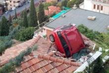 รวมรูป อุบัติเหตุแบบพิสดาร ที่ไม่น่าเชื่อว่าจะเป็นไปได้(ชมภาพ)
