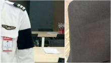 นักบินแอร์เอเซีย เผยเมื่อเขาซื้อผ้าติดแขนไว้อาลัย ในหลวง ร.9 คนขายญี่ปุ่นน้ำตาไหลพราก