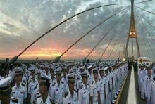 """กองทัพเรือ-วงดุริยางค์ราชนาวี ร่วมกิจกรรม """"ร่วมสำนึกในพระมหากรุณาธิคุณ 5 ธ.ค."""