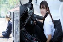เปรี้ยงข้ามคืน!นักบินสาวสวย อดีตวิศวกร-แอร์ฯ