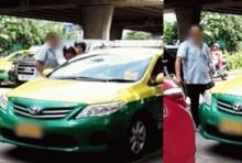 เดือดกลางถนน!! แท็กซี่หัวร้อนวางมวย แค้นโดนขับรถตัดหน้ากะทันหัน(คลิป)