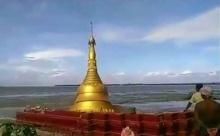 เพจกูรูประเทศพม่า เผยสาเหตุที่เจดีย์ริมน้ำถล่ม เพราะอะไร?