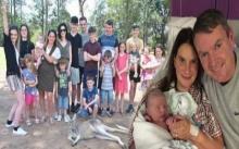 คุณพระ!!! ครอบครัวลูกดก มีลูกทั้งหมด 19 คน ก่อนฉลองคลอดคนที่ 20 (มีคลิป)