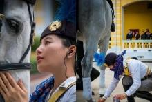 ม้า W-Lacata สง่างาม สมพระบารมี พระองค์หญิงฯทรงใส่ใจดูแล ด้วยพระองค์เอง