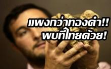 รู้ไหมอะไร แพงกว่าทองคำ หนักแค่ 850 กรัม แต่ราคาสูงถึง 2.6 ล้าน ล่าสุดพบที่ไทยด้วย!!