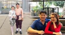 น้องไบรท์ ควงพี่ชายสุดที่รัก สรยุทธ แต่งชุดไทยร่วมงานอุ่นไอรักคลายความหนาว!