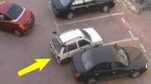 เจ้าของรถยนต์สีแดง โดนแย่งที่จอดรถ ไปแบบซึ่งๆหน้า แต่เธอโต้กลับทำเอาเงิบ!