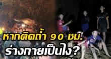 คลายสงสัย! เพจหมอเผย หาก ติดถ้ำ 90 ชั่วโมง ร่างกายจะเป็นอย่างไร ?!