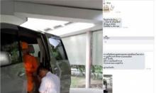 เปิดภาพ ธัมมชโย แย้งคำหมอ โซเซียลเผยภาพนั่งรถตู้ ปล่อยนก