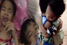 น้ำตาไหล!!ไลค์กระจายคลิปเด็กแฝดร้องให้.. เพราะคิดถึงยาย(ที่กำลังป่วยอยู่)