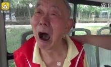 สงสาร! คุณปู่วัย 95 หลงทางบนรถบัส ร้องไห้บอกคิดถึงลูกเมีย(คลิป)