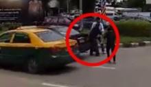 กะเอาตาย!แท็กซี่ไทย โคตรโหด ใช้คัตเตอร์กรีดหลังคู่กรณีเลือดอาบ
