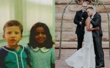 ป๊อบปี้เลิฟที่กลายมาเป็นรักแท้!!! ปิ๊งกันตั้งแต่อนุบาล รักเดียวมา 20 ปี จนได้แต่งงานกัน!