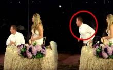 """งานแต่งงานของคู่รักกำลังไปได้สวย ก่อนจู่ๆมีเสียงหนึ่งดังขึ้น """"เจ้าบ่าว"""" รีบวิ่งออกไปจากที่นั่งทันที!!"""