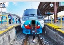 อย่าว่าแต่จีน!!งามหน้าเมื่อสาวไทยโดดลงไปยืนโพสท่าหน้ารถไฟที่ญี่ปุ่น