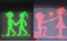 ขนาดไฟจราจรยังมีคู่!! เปลี่ยนสัญลักษณ์คนข้ามถนน ให้ชายหนุ่มมีสาวเคียงข้าง