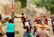 แชร์สนั่น!!นทท.แฉคลิป คนงานทำร้ายเสือในวัดไทย!