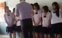 แรงไปมั้ย!? แฉคลิปครูตบเด็กหัวทิ่ม ในโรงเรียนย่านปทุมฯ