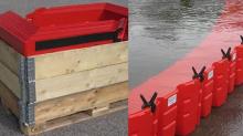 นวัตกรรมใหม่ กำแพงกันน้ำท่วม ควบคุมแนวน้ำท่วมได้มีประสิทธิภาพไม่แพ้กระสอบทราย?