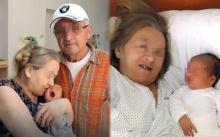 หญิงชราคลอดลูกคนแรก ในวัย 60 หลังรอคอยมานาน แต่กลับถูกสามี วัย 68 ทิ้งไป เหตุเพราะ..?