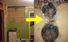 ครอบครัวนี้ซื้อบ้านมา 3 ปี เตรียมรีโนเวทห้องครัวใหม่ แต่พอเริ่มรื้อกำแพง กลับเจอสิ่งน่าขนหัวลุก?