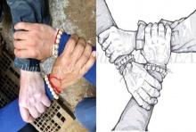 """ควันหลง!!ภารกิจถ้ำหลวง หน่วยซีลเฉลยที่มาภาพ """"มือประสานมือ"""" มีที่มาจากอะไร?"""