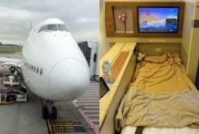 เปิดภาพ 'โบอิง 747-400' ทำไม 'นักบิน' ต้องอ้างสิทธิแย่งที่นั่งผู้โดยสาร