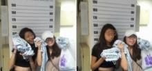 แชร์ว่อน!! สองสาวสิงคโปร์ โดนจับขโมยของแต่ยังเซลพี่ระรื่นคาห้องขัง!!ยางอายมีมั้ย!!!?