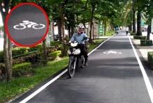 โพสต์คลิปแฉ!! จยย.วิ่งบนเลนจักรยาน โดนย้อน มีปัญหาป่ะ?(ชมคลิป)