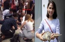 โซเชียลแห่ชม!!! กอล์ฟ เทยเที่ยวไทย พิธีกรชื่อดัง น้ำใจงาม วิ่งเข้าช่วยหนุ่มล้มหัวฟาดพื้น
