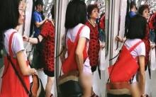 จู่ๆหญิงคนนี้ก็ ถอดกางเกงใน โชว์กลางรถไฟใต้ดิน แต่พอฟังสาเหตุทำเอางงหนักกว่าเดิมอีก!?