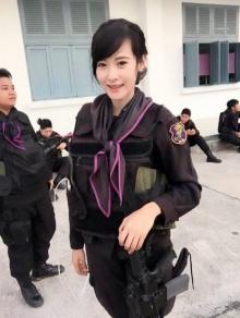 แชร์กันทั่ว!! ทหารพรานหญิงหน้าหวานขนาดนี้