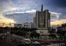 ชาวเน็ตแตกตื่นปรากฏการณ์ก้อนเมฆประหลาดทั่วกรุงเทพฯ