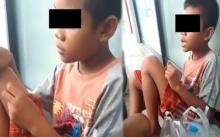 สุดเวทนา!!! เด็กชาย 10 ขวบ โดนแม่ไล่ออกจากบ้าน นั่งหิวโซ ไม่มีเงิน ไร้ทางไป!!