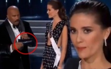 ชาวเน็ตจับผิด! ซองคำถาม Miss Universe 2017 เหมือนล็อกผลมาแล้ว ทำมารีญา ตกรอบ 5 คนสุดท้าย