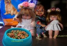 ชาวเน็ตล้อแรงจับตุ๊กตา ลูกเทพ ถ่ายภาพเสียดสีสังคม!!