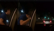 แชร์กระจาย!! คลิปเดือดกลางถนน หนุ่มขับเบนซ์ คล้ายเมาเหล้า ดูถูกคนเเท็กซี่ - คนอีสาน (คลิป)