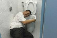 เกลือกกลิ้ง!! ให้ดูเอง! หัวหน้า สภ.บางบาลพิสูจน์ห้องน้ำโคตรสะอาด