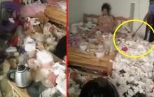 แชร์สนั่น!! หญิงสาว อาศัยอยู่ในห้องพัก ขยะล้นห้อง ก่อนซูมเห็นอะไรบางอย่าง?(คลิป)