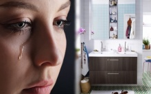 ช็อคพูดไม่ออก!! หญิงสาว อาบน้ำที่บ้านเพื่อนสนิท แต่กลับเจอสิ่งของคุ้นเคยของสามี! ถึงกับโกรธจัด งานนี้มีพัง!