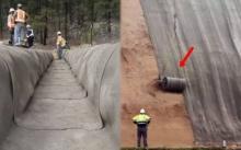 """หนุ่มใหญ่วัย 52 คิดค้น """"ผ้าห่มซีเมนต์"""" แค่โดนน้ำก็กลายเป็นกำแพง สร้างรายได้มากกว่า 100 ล้าน!!!"""