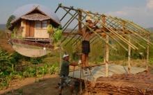 3 พี่น้อง สร้างกระท่อมหลังเล็กๆ ดูเหมือนธรรมดาปกติ แต่พอเห็นข้างในเท่านั้น โคตรอลังการ!