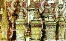 เป็นบุญตาพสกนิกร...เปิดภาพพระโกศพระบรมอัฐิ 8 รัชกาลในพระที่นั่งดุสิตมหาปราสาท