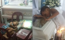 หนูน้อยวัย 4 ขวบ นอนเฝ้าโลงศพแม่ไม่ยอมห่าง และถามคำถามนี้..? ออกมา ทำเอาน้ำตาซึม!!