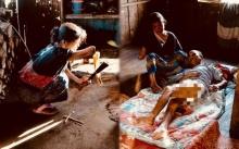 ชีวิตจริงยิ่งกว่าละคร!! หญิงพิการแขน สู้ชีวิตดูแลสามีถูกทำร้ายจนพิการ ทั้งบ้านเหลือเงินแค่ 10 บาท