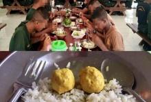 ทบ.แจงแล้ว!! หลังภาพทหารกินน้ำแกง-ลูกชิ้น 2 ลูก ถูกแชร์ว่อน!!