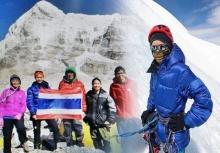 ปรบมือรัว!!หมออีม สาวไทยผู้พิชิตยอดเขาเอเวอเรสต์เป็นคนแรก